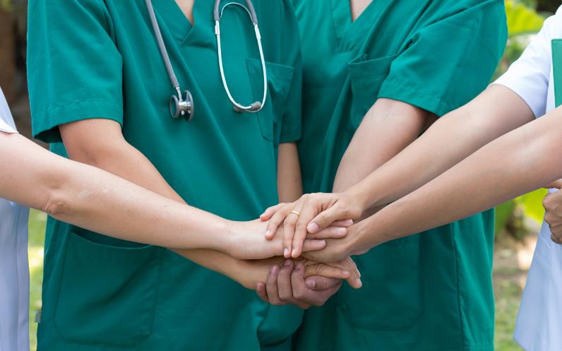 Nurses-Hands